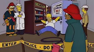 Simpsons Vending Machine Cool Arms Are Stuck Season 48 Episode 48 Simpsons World On FXX