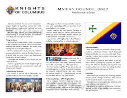 Organization Chart 3827 By Knights Of Columbus Bloomington