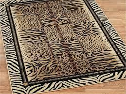 zebra print area rug by leopard print area rugs