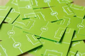 Soccer Business Card Football Coach Business Card
