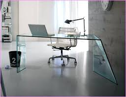 glass home office desks. Desks Most Top Notch Modern Glass Office Desk Innovation Home N