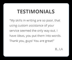 write an essay online for cheap com testimonials