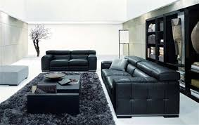 Black And White Living Room Furniture Rooms Ideas