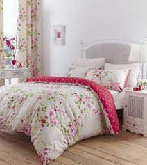 catherine lansfield canterbury double duvet set red co uk kitchen home