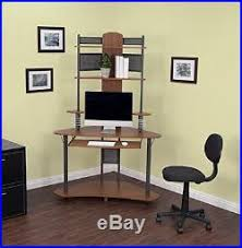 Small corner wood home office Table Small Corner Computer Desk Tower Hutch Wood Storage Shelves Student Home Office Chernomorie Small Corner Computer Desk Tower Hutch Wood Storage Shelves Student