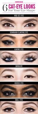 makeup for diffe eye shapes how to get the perfect cat eye for every eye shape