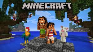 minecraft moana character pack now available