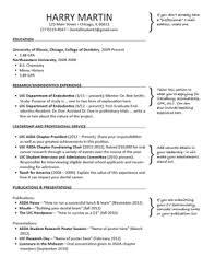 Cv Template Dentist Resume Examples