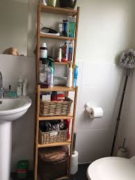 MUST GO THIS WEEK* Ikea Ragrund bamboo bathroom shelving unit ...