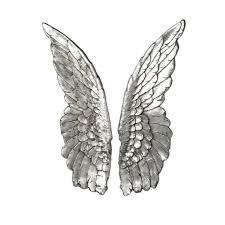 parlane art angel wings silver