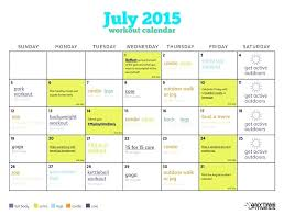 How To Create A Workout Calendar Online – Template Source On Epigrams