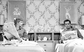 Elegant I Love Lucy Bedroom Paintings Why Lucy And Ricky Slept In Separate Beds Van  Winkles Childrens