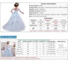 4 Year Girl Dress Size Chart Summer Costume Kids Dresses Girls Party Princess Dress Elegant Evening Maxi Dress For Girls Lace Wedding Dress Vestidos Vova