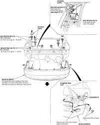 15 rear bumper removal on 1992 95 prelude
