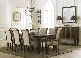Tufted Dining Room Sets Old Liberty Furniture Old World Piece X Dining Room Set In Oak
