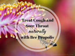 how to use propolis for sore throat