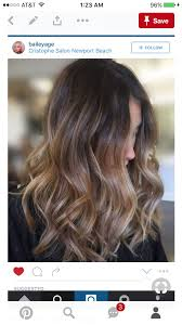 Brunette Color Balayage Hair Brown Hair