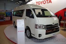 toyota new car release 2015Toyota Hiace will launch in India later this year
