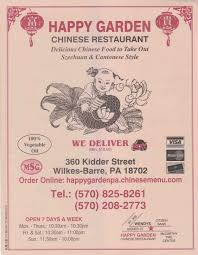 happy garden chinese wilkes barre pa