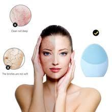 1 шт. силиконовая электрическая щетка для очищения лица ...