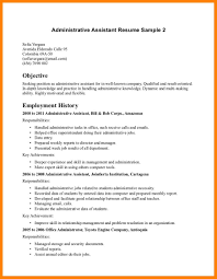 10 Administrative Assistant Resume Objective Letter Adress