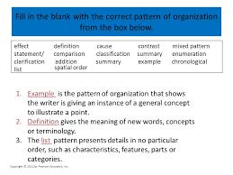 Spatial Organizational Pattern Cool ORGANIZATIONAL PATTERNS Ppt Video Online Download