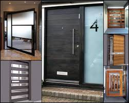 Contemporary Front Door Eterior Doors Modern Throughout Doors