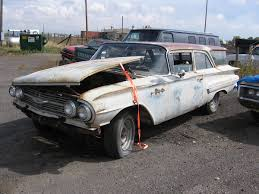 Back On The Streets After 30 Years–'60 Chevy Wagon For Sale ...