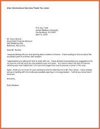 sample thank you letter after interview a156a75b105f68c15cbcfe b17