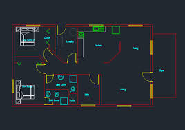 Auto Cad Floor Plans Find House  Architecture Plans  39235Free Cad Floor Plans