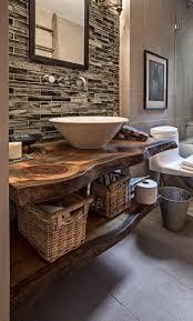 Modern bathroom faucet vanity with shelf underneath
