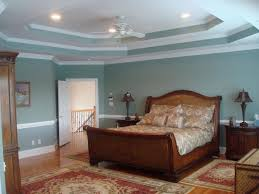 Sloped Ceiling Bedroom Bedroom Double Tray Ceiling Design Bedroom Trey Ceiling Colors