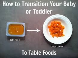 How To Transition Your Baby Or Toddler To Table Foods