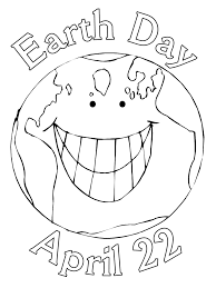 Small Picture Happy Earth Day Coloring Page For Kids Pages Printables At