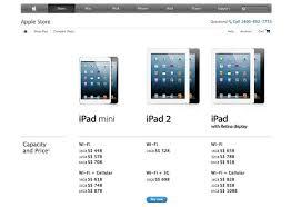 ipad mini 3g wifi price