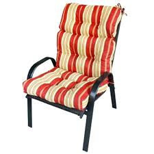 decoration Red outdoor chair cushions gecalsa