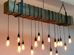 rustic barn chandelier custom made reclaimed barn beam chandelier light fixture
