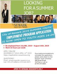 Cards Summer Youth Employment