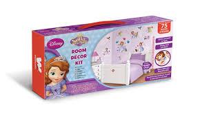 Sofia The First Bedroom Accessories Walltastic Disney Sofia The First Room Decor Kits Multi Colour