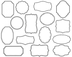 Decorative Text Boxes Decorative Text Box Clipart Decorative Text Box 100 2