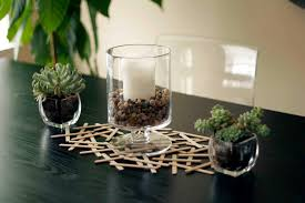 popsicle stick centerpiece