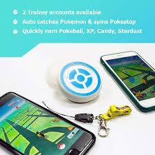 Amazon.com: Pokemon Go Plus MEGACOM Dual Catchmon for 2 Accounts, Auto  Catch, Spin, Speedy Upgrade to Earn Candy, XP & Stardust, Always on (White)