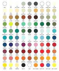 Paints 8 Paint Colour Chart Interlux Perfection Colors