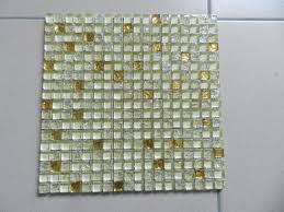 decoration material artistic pattern mix color crystal glass mosaic tile
