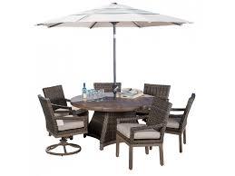 metropolitan 7 piece patio dining group
