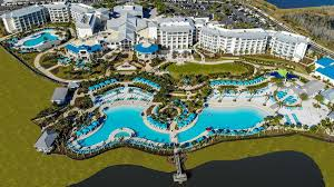 a bird s eye view of margaritaville resort orlando