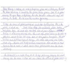 7th Grade Essay Writing Grade 7 Level 4 Writing Sample