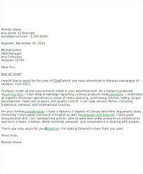 Kitchen Staff Cover Letter Restaurant Manager Cover Letter Sample