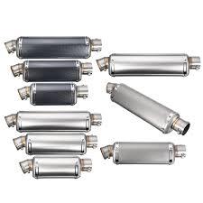 For Honda for Kawasaki 38 51mm Stainless Steel <b>Motorcycle</b> ...