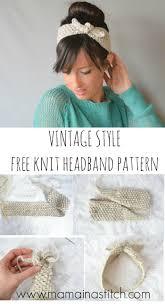 Knitted Headband Pattern Interesting Decorating Ideas